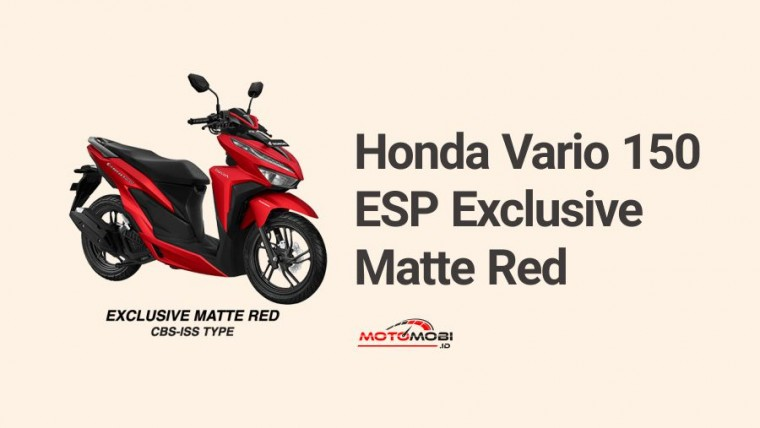 Honda Vario ESP Exclusive Matte Red