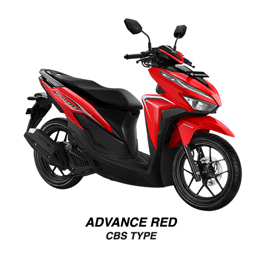 Varian Warna Honda Vario 125 eSP - Advance Red CBS Type