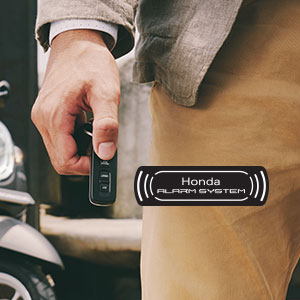 Anti Theft Alarm with Answer Back System di All New Honda Scoopy