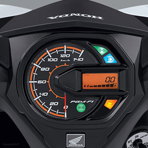 Combined Digital Panel Meter Honda Beat